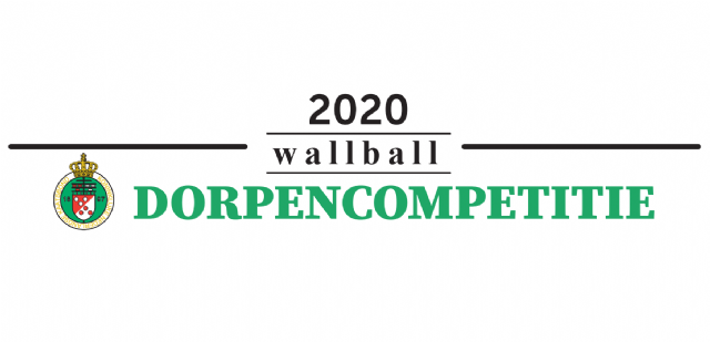 Dorpencompetitie wallball logo
