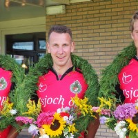 Trio Haije Jan Nicolay wint krans in Stiens
